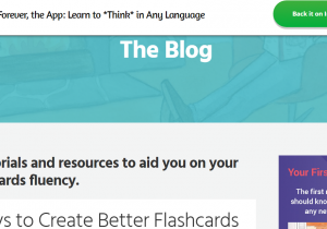 Fluent Forever Create Better Flashcards screenshot