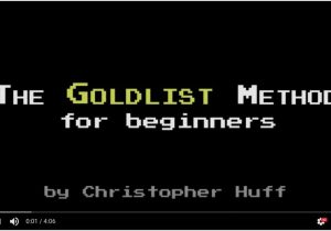 GOLDLIST METHOD for Beginners video screenshot